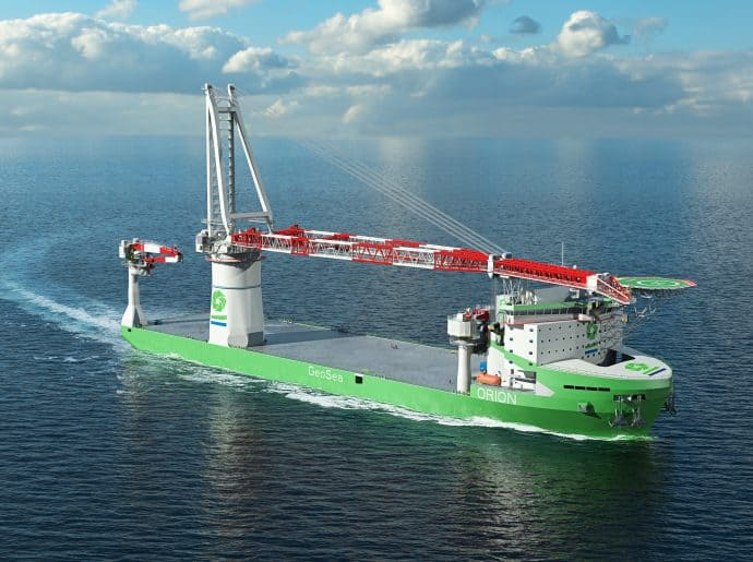 THE WORLD'S FIRST LNG-FUELLED OFFSHORE CONSTRUCTION VESSEL BUILT FOR DEME IS POWERED BY WÄRTSILÄ WITH HELP FROM ATA